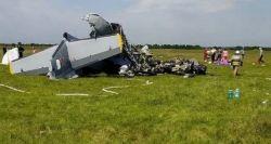 Queda de avião bimotor deixa mortos e feridos na Sibéria